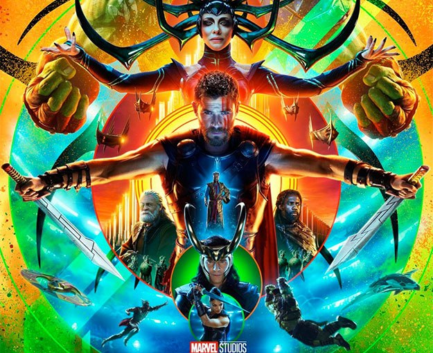 Review of Thor: Ragnarok aka Asgardians of the Galaxy