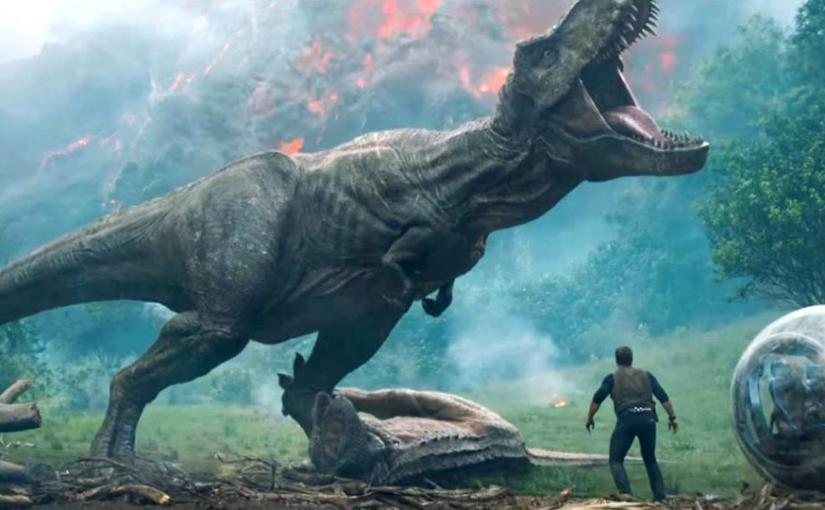 "Jurassic World: Fallen Kingdom Trailer ""Spares NoExpense"""