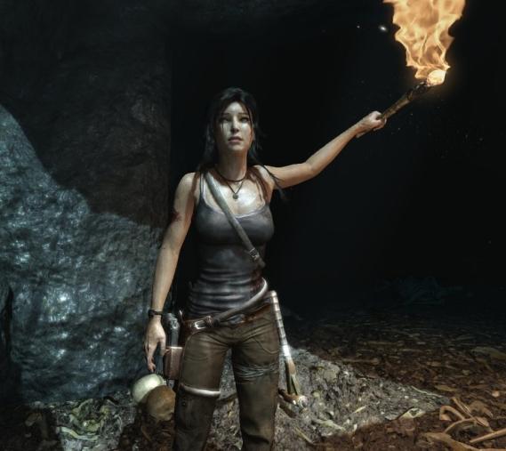 Lara from the 2013 Tomb Raider game