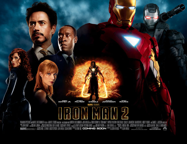 Road to Infinity War #3 of 18: Iron-Man 2 (2010)